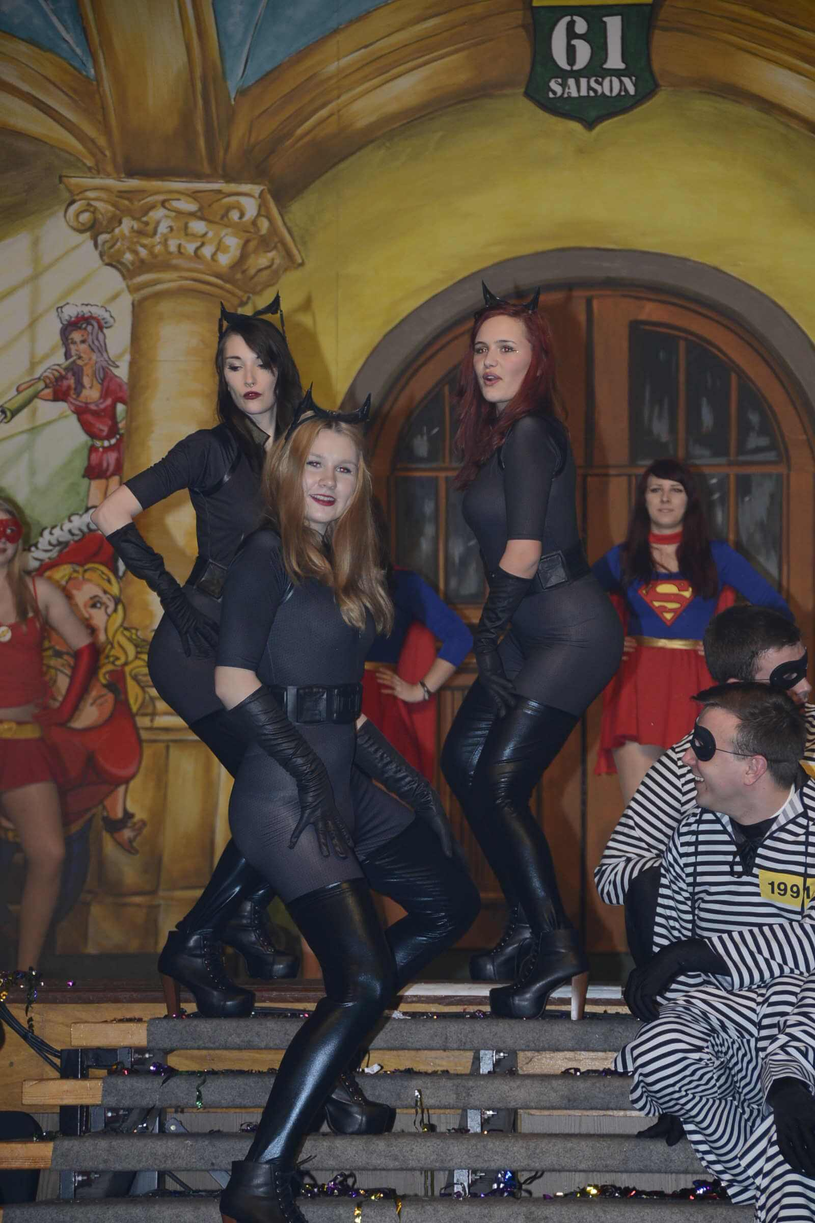 Funkengarde als Super-Girls